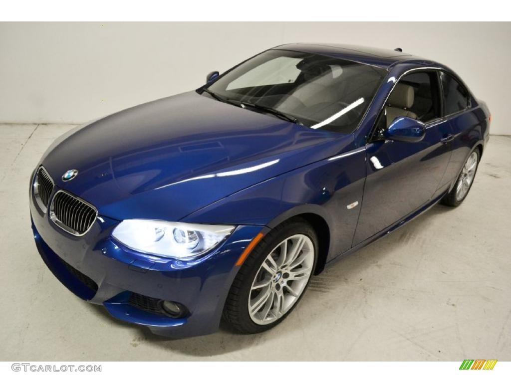 Deep Sea Blue Metallic 2011 Bmw 3 Series 335i Coupe