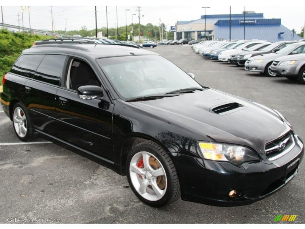 obsidian black pearl 2005 subaru legacy 2 5 gt wagon exterior photo 49601044. Black Bedroom Furniture Sets. Home Design Ideas