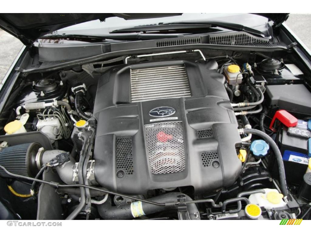2005 Subaru Legacy 2 5 Gt Wagon Engine Photos