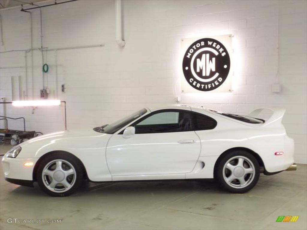 fe40a4abd490 1996 Super White Toyota Supra Coupe  49566392 Photo  5