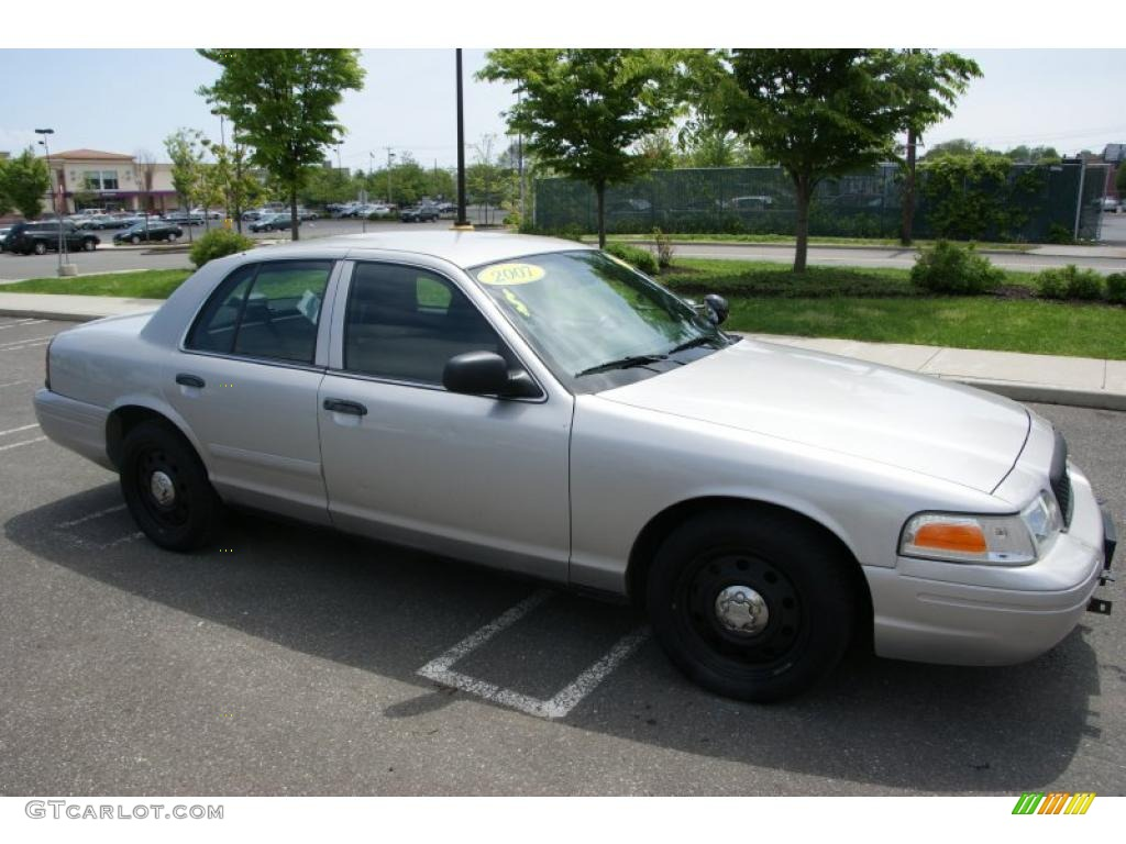 silver birch metallic 2007 ford crown victoria police interceptor exterior photo 49603693. Black Bedroom Furniture Sets. Home Design Ideas