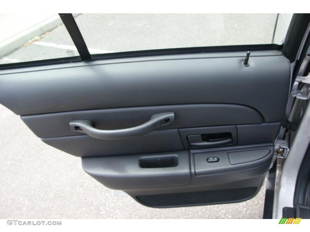 2007 Ford Crown Victoria Police Interceptor Charcoal Black Door Panel Photo 49603828