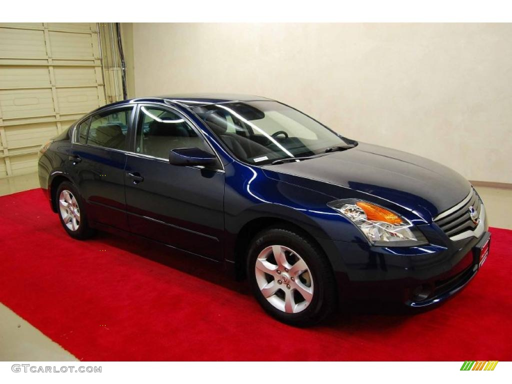 2009 Nissan Altima Hybrid Blue 200 Interior And Exterior Images