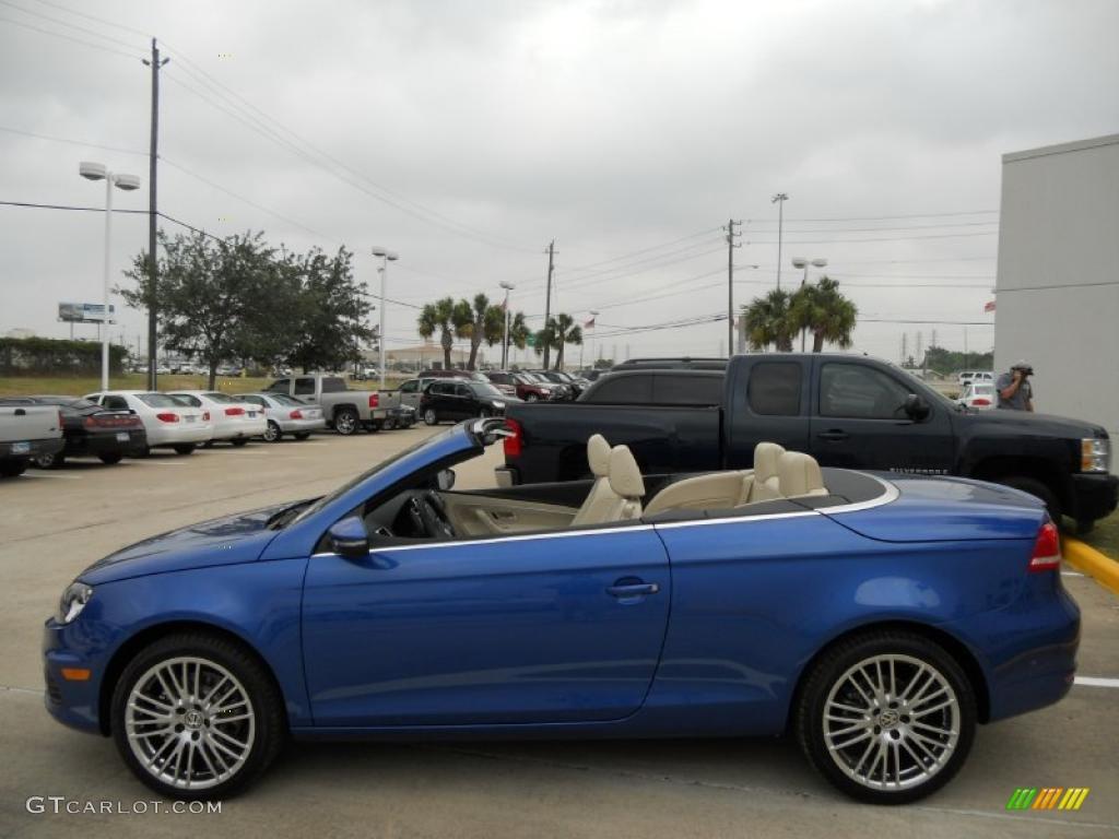 Rising Blue Metallic 2012 Volkswagen Eos Komfort Exterior ...