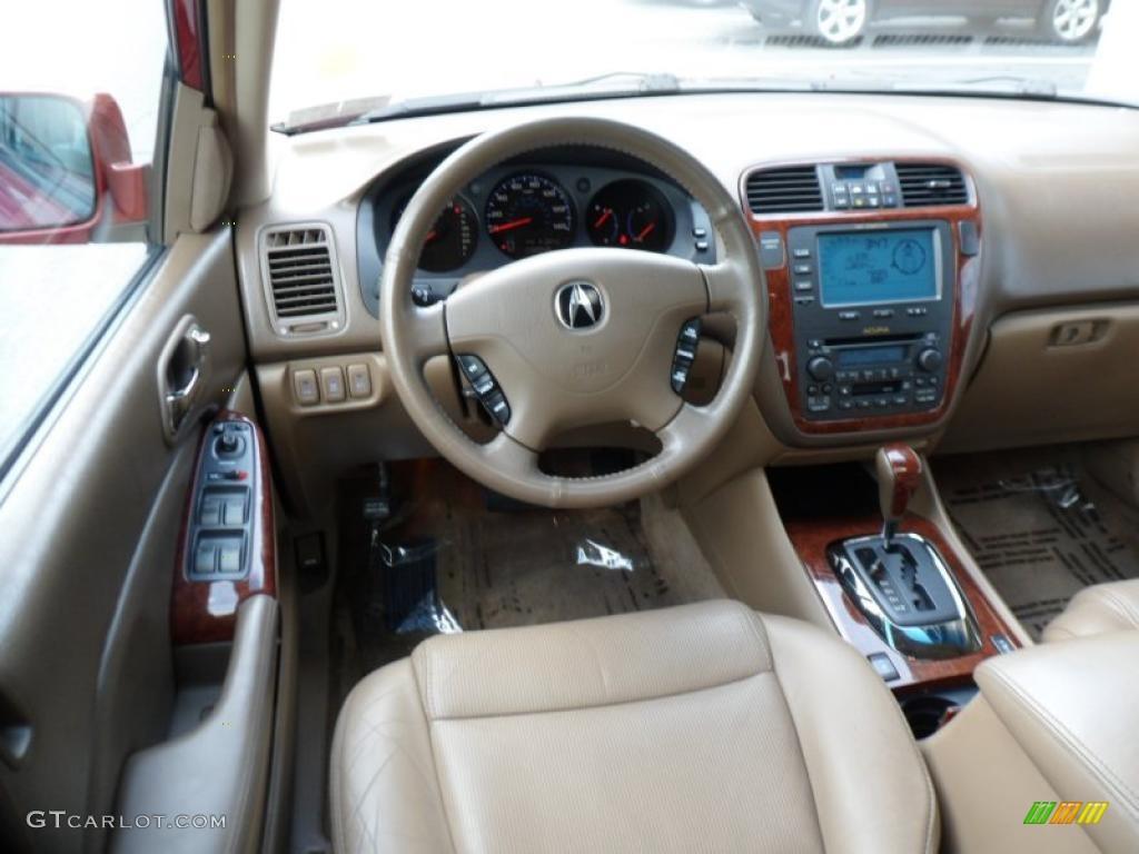 2004 Acura MDX Standard MDX Model Saddle Dashboard Photo 49615120