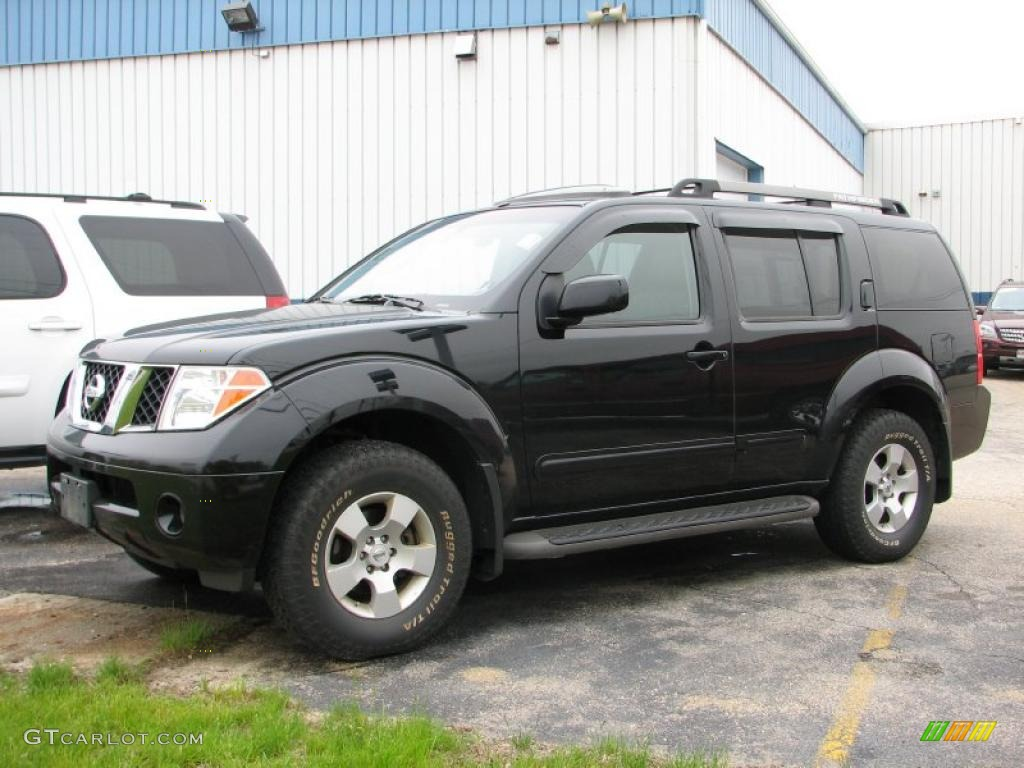 2007 Super Black Nissan Pathfinder Se 4x4 49566056 Photo