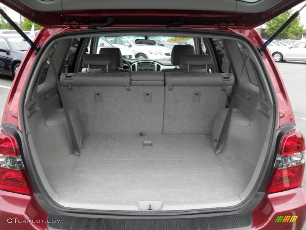 2006 Toyota Highlander I4 Trunk Photo #49619047 | GTCarLot.com