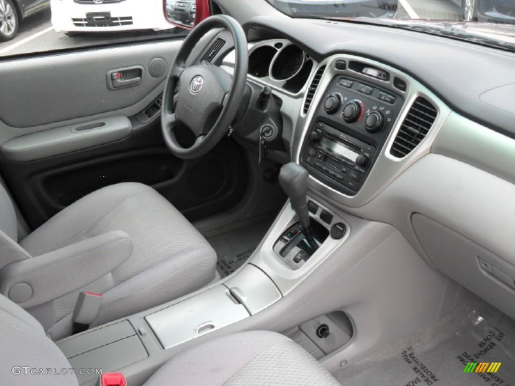 2006 toyota highlander i4 interior photo 49619092. Black Bedroom Furniture Sets. Home Design Ideas