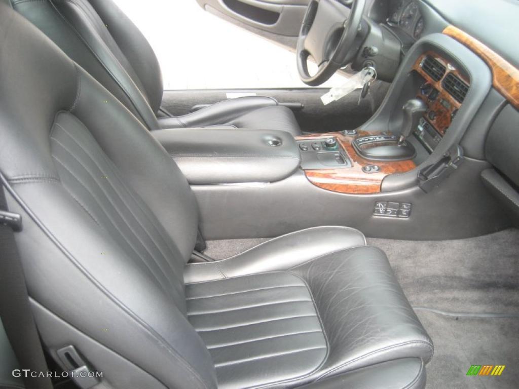 Black Interior 1997 Aston Martin DB7 Coupe Photo 49621045