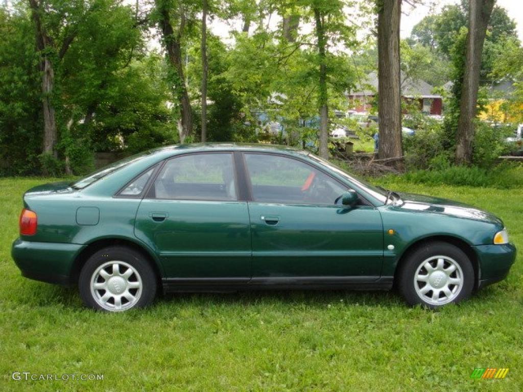 1997 cactus green metallic audi a4 1 8t quattro sedan 49566274 car color galleries. Black Bedroom Furniture Sets. Home Design Ideas