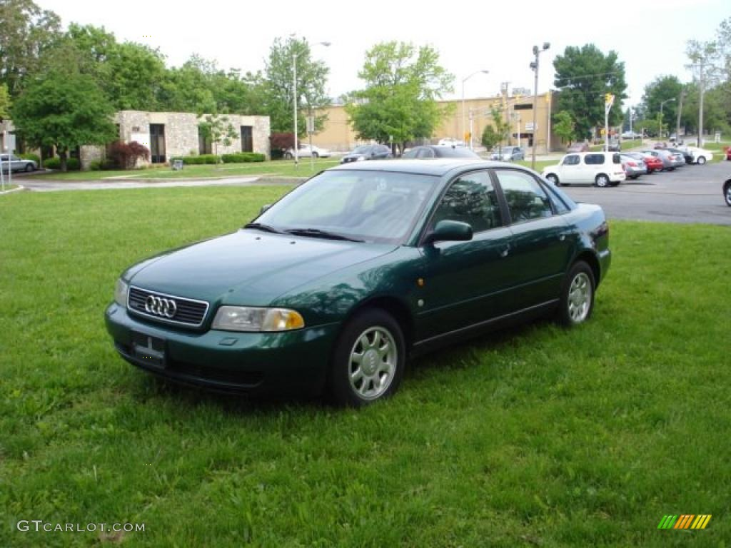 Cactus green metallic 1997 audi a4 1 8t quattro sedan exterior photo 49627759