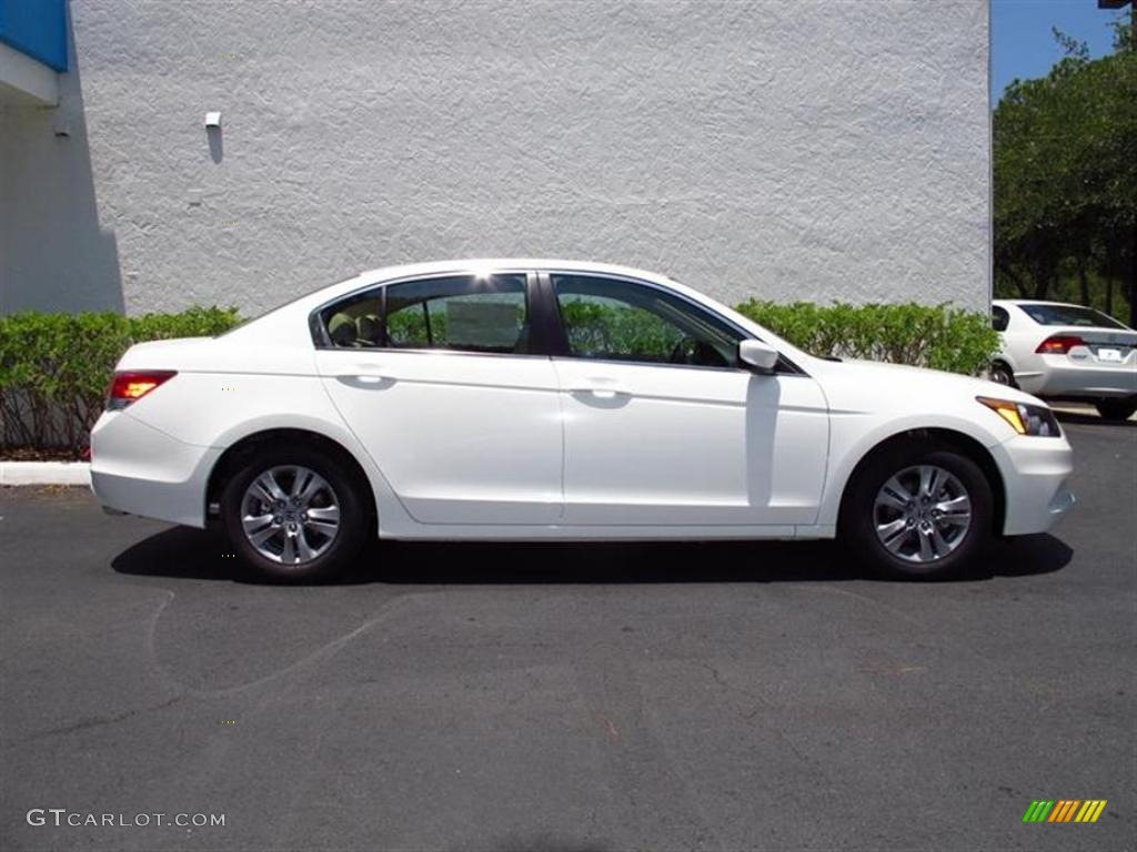 Taffeta White 2011 Honda Accord Se Sedan Exterior Photo