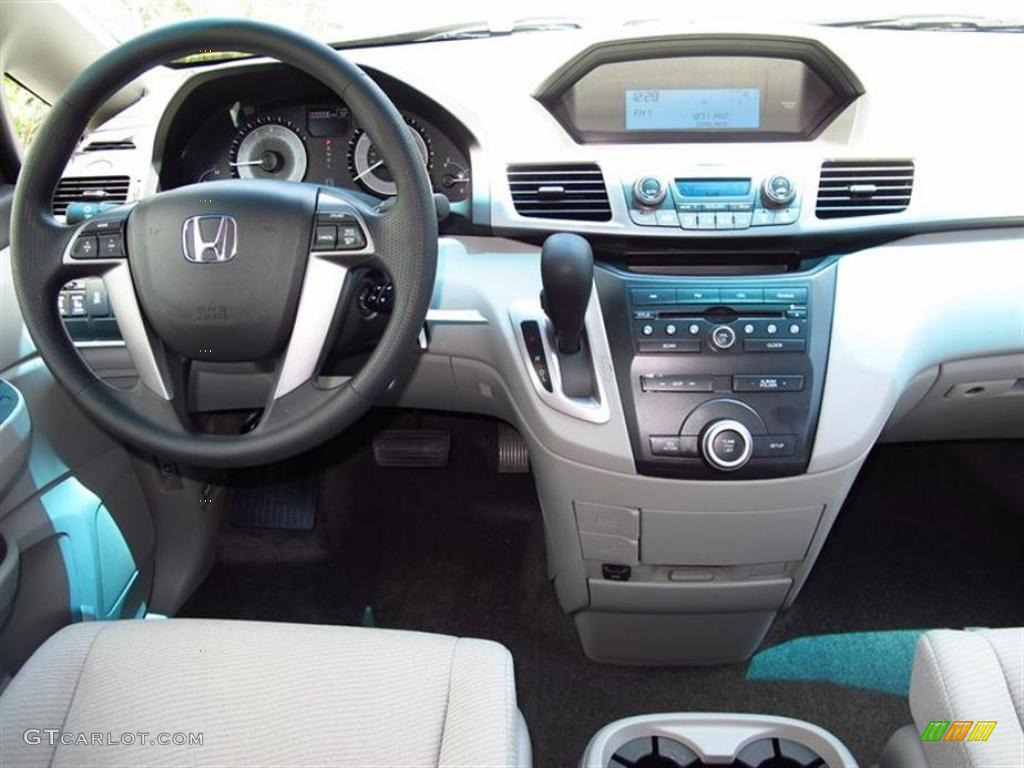 2011 Honda Odyssey Ex Gray Dashboard Photo 49628902