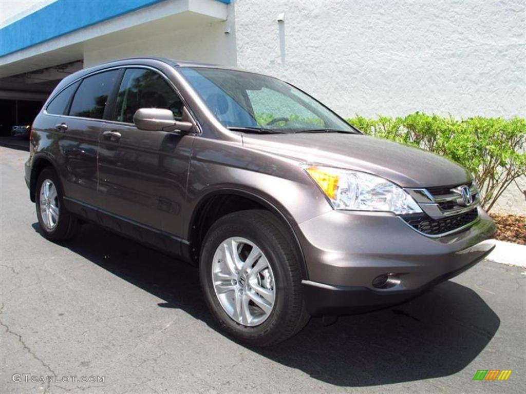 Urban Titanium Metallic 2011 Honda Cr V Ex L Exterior Photo 49629103 Gtcarlot Com