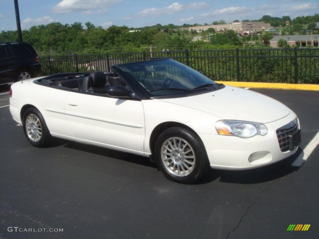 stone white 2004 chrysler sebring touring convertible exterior photo. Cars Review. Best American Auto & Cars Review