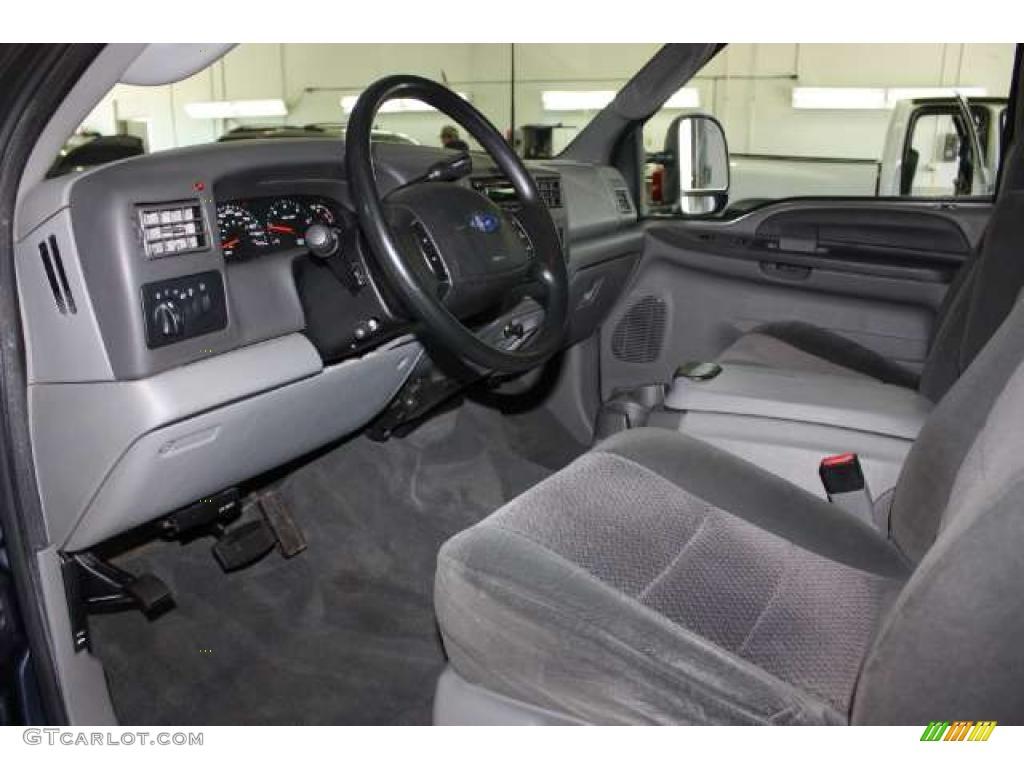 Medium Flint Grey Interior 2003 Ford F250 Super Duty Fx4 Crew Cab 4x4 Photo 49630205