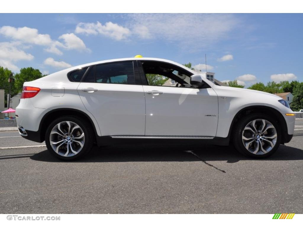 Alpine White 2011 Bmw X6 Xdrive50i Exterior Photo