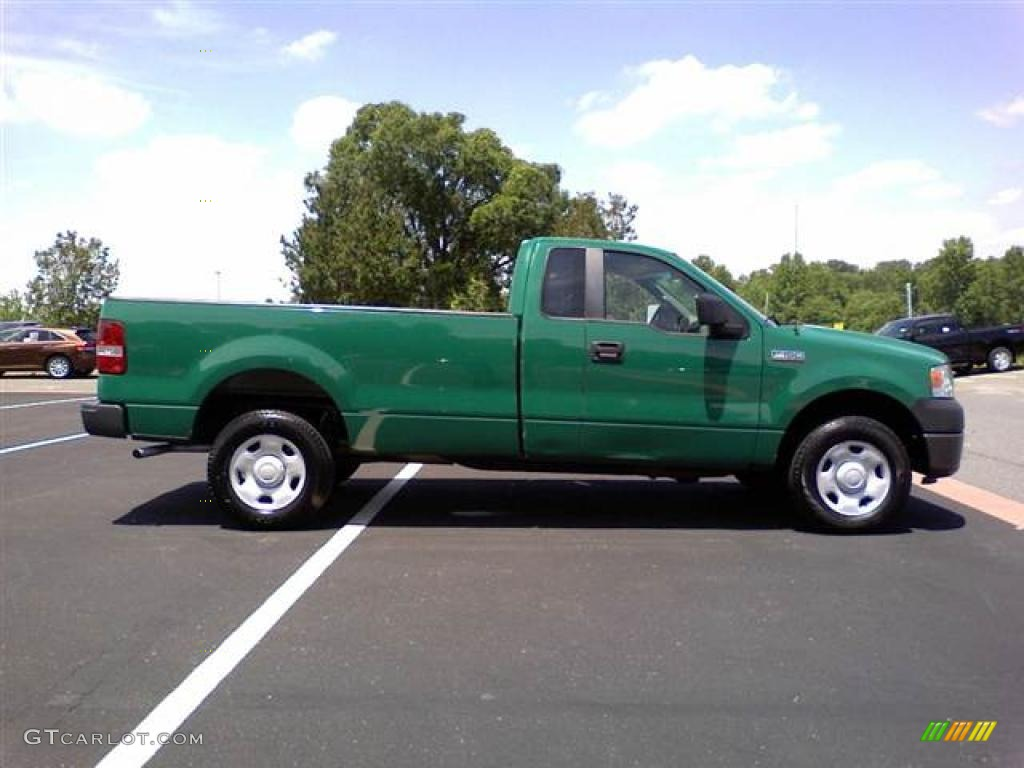 fleet green 2007 ford f150 xl regular cab 4x4 exterior photo 49631645. Black Bedroom Furniture Sets. Home Design Ideas
