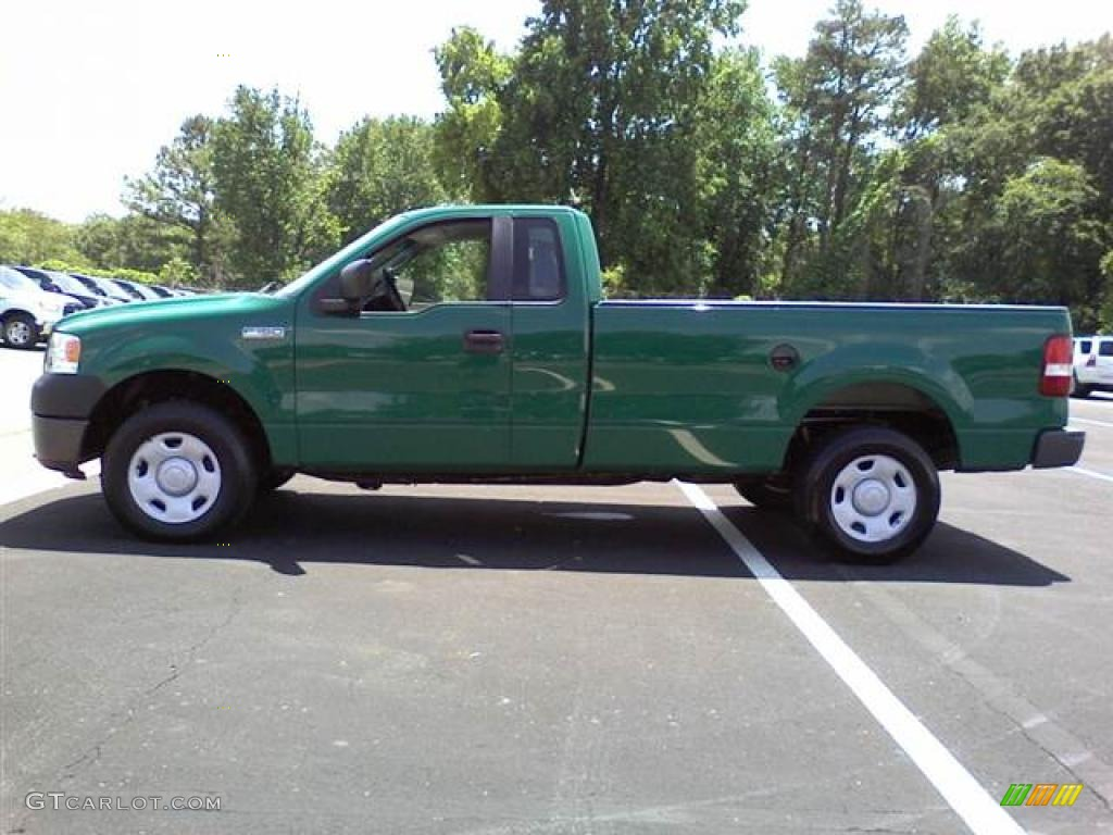 fleet green 2007 ford f150 xl regular cab 4x4 exterior photo 49631660. Black Bedroom Furniture Sets. Home Design Ideas