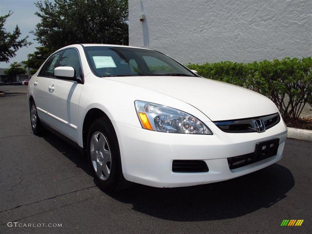2007 taffeta white honda accord lx sedan 49629642 for 2007 honda accord lx sedan