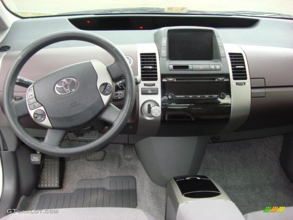 2004 Toyota Prius Hybrid Burgundy Gray Dashboard Photo 49635368 Gtcarlot Com