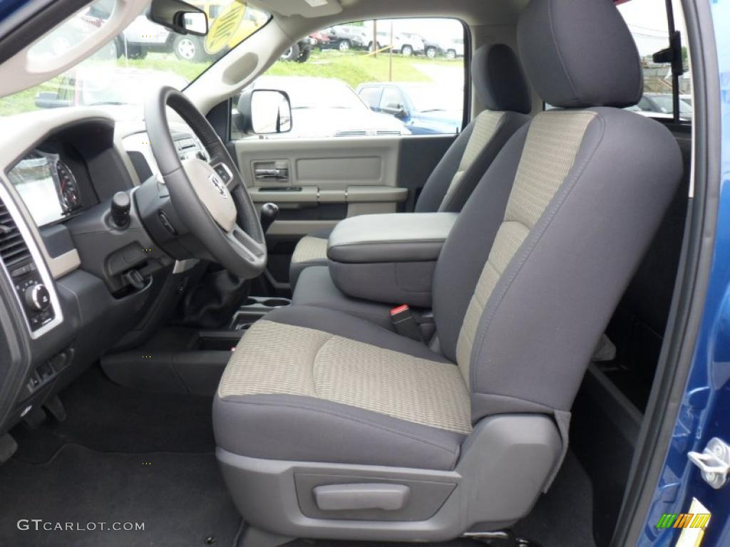 Dark Slate/Medium Graystone Interior 2010 Dodge Ram 3500 SLT Regular Cab Photo #49636751