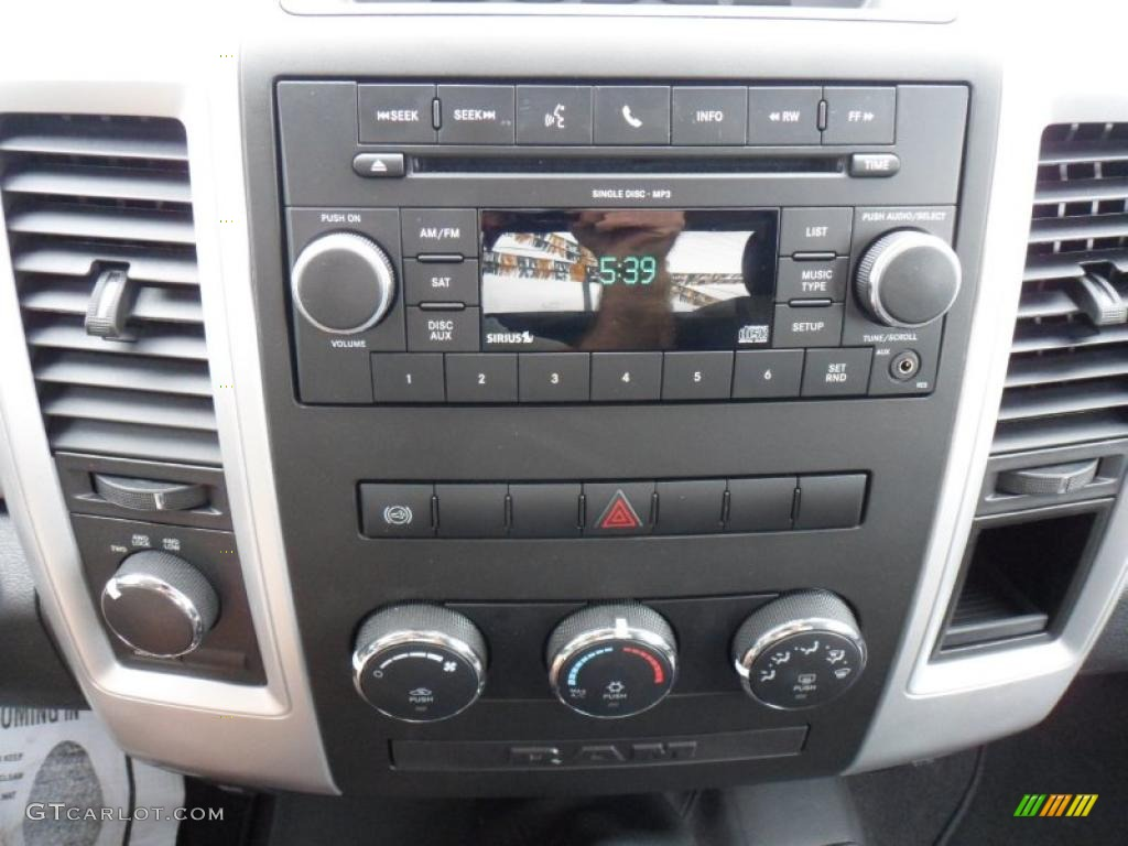 2010 Dodge Ram 3500 SLT Regular Cab Controls Photos