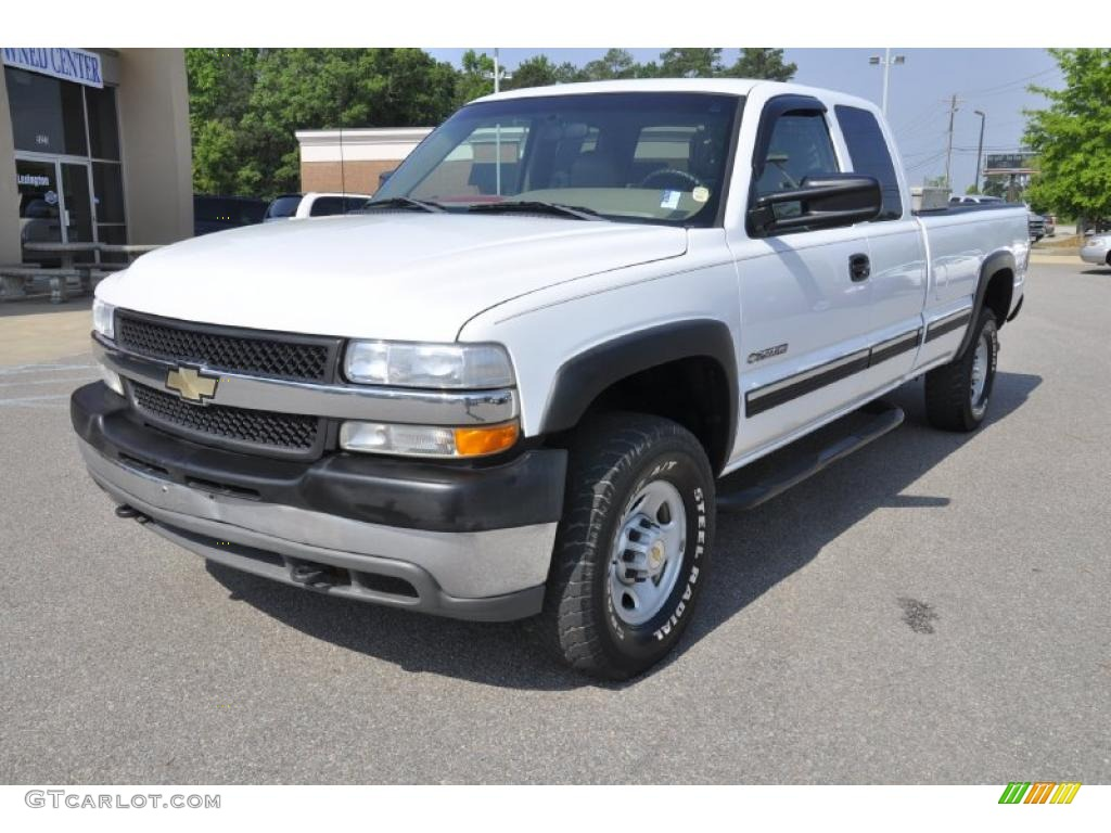 summit white 2001 chevrolet silverado 2500hd ls extended. Black Bedroom Furniture Sets. Home Design Ideas