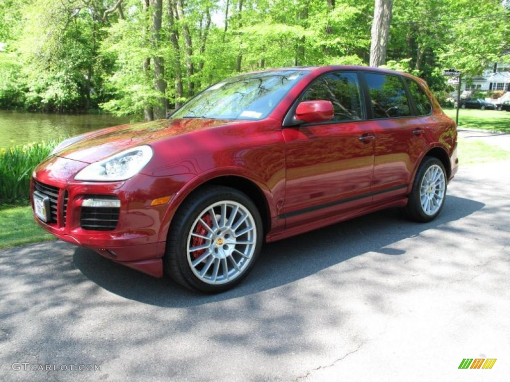 2009 Gts Red Porsche Cayenne Gts 49629676 Gtcarlot Com Car Color Galleries