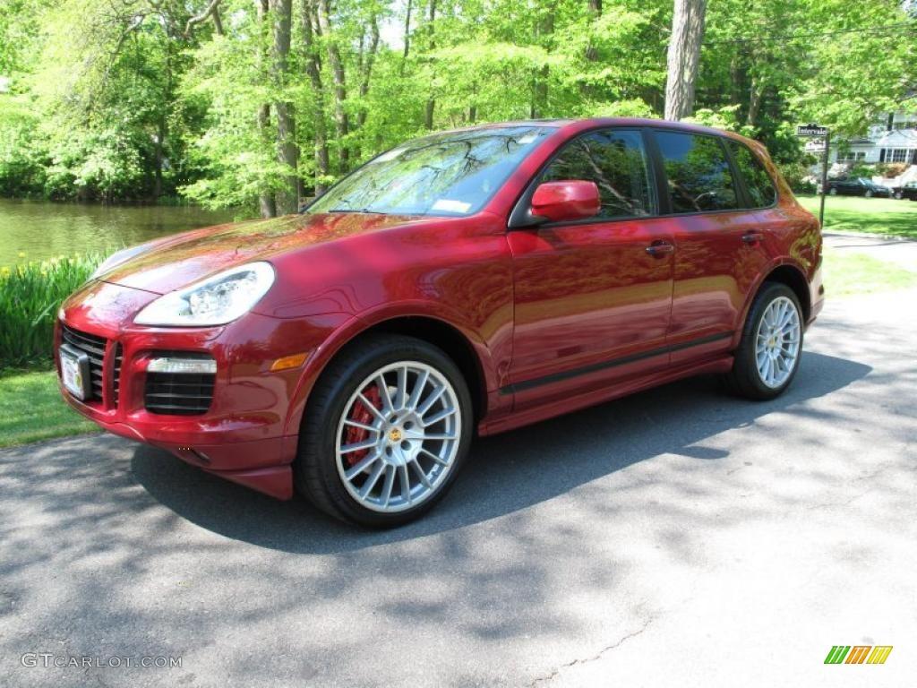 2009 Gts Red Porsche Cayenne Gts 49629676 Gtcarlot Com Car Color Galleries
