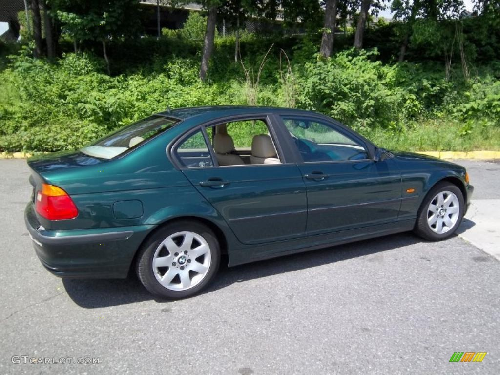 fern green metallic 1999 bmw 3 series 323i sedan exterior. Black Bedroom Furniture Sets. Home Design Ideas