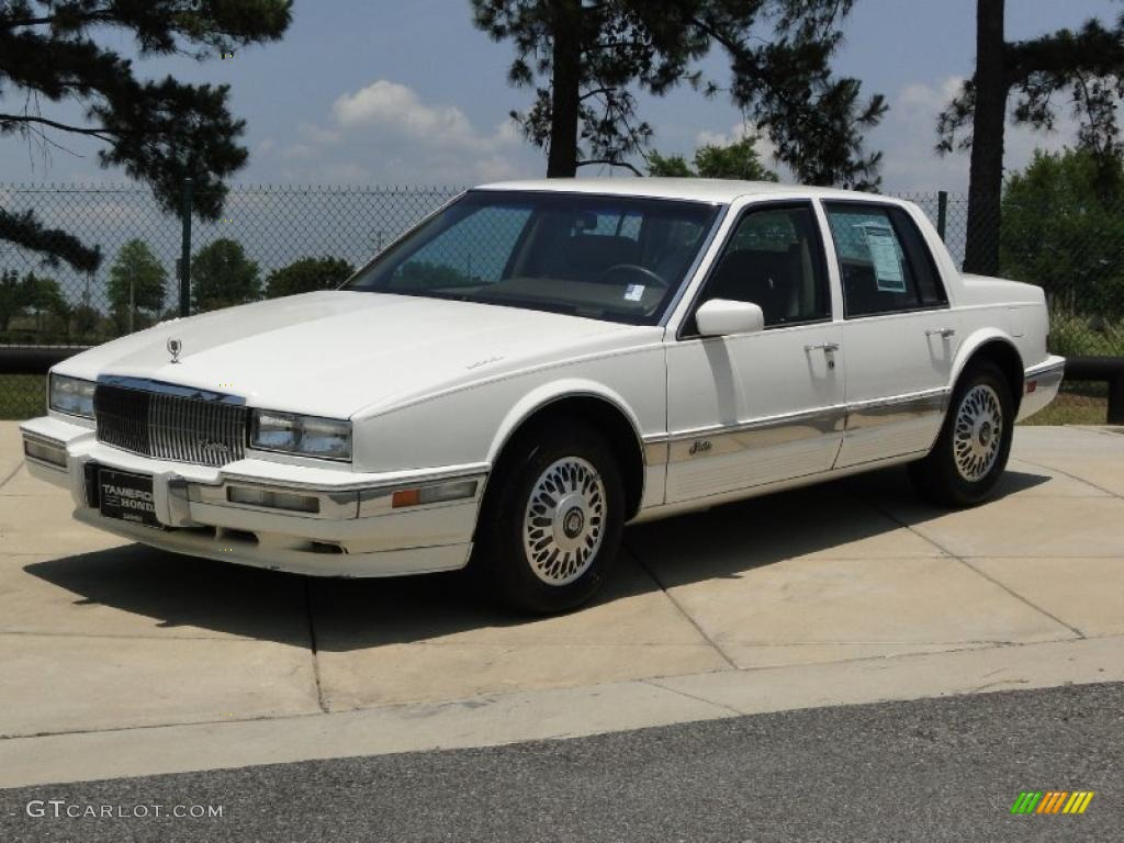 white diamond 1990 cadillac seville sts exterior photo. Black Bedroom Furniture Sets. Home Design Ideas