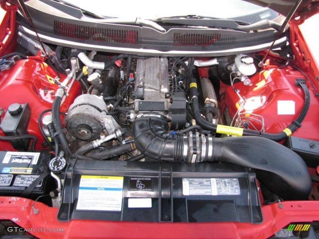 1995 Chevrolet Camaro Z28 Coupe 57 Liter OHV 16 Valve LT1