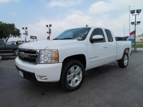 2008 Chevrolet Silverado 1500 LTZ Extended Cab Data, Info and Specs