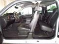 Ebony Interior Photo for 2008 Chevrolet Silverado 1500 #49656324