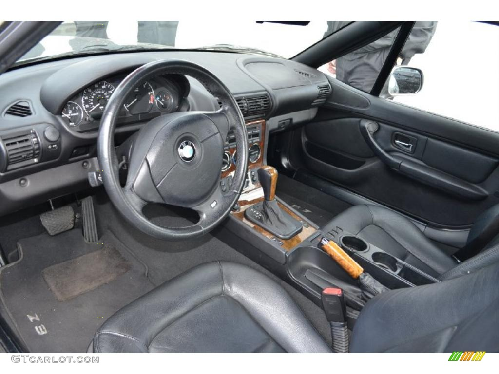 Black Interior 2002 Bmw Z3 3 0i Roadster Photo 49657984 Gtcarlot Com