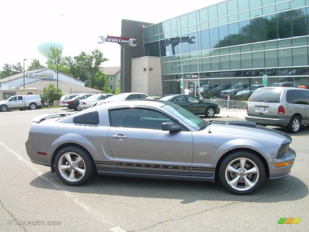 2007 Mustang GT Premium Coupe - Tungsten Grey Metallic / Black/Dove Accent photo #1