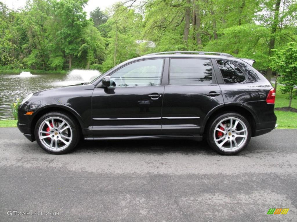 basalt black metallic 2009 porsche cayenne gts exterior photo 49679586. Black Bedroom Furniture Sets. Home Design Ideas