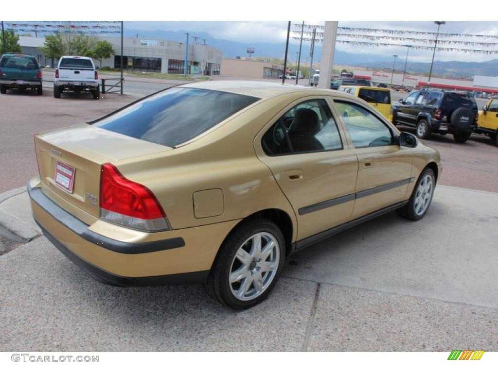 2002 maya gold metallic volvo s60 2 4t awd 49657127 photo. Black Bedroom Furniture Sets. Home Design Ideas