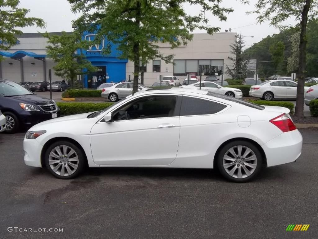 Taffeta White 2008 Honda Accord EX-L V6 Coupe Exterior Photo #49685325 ...