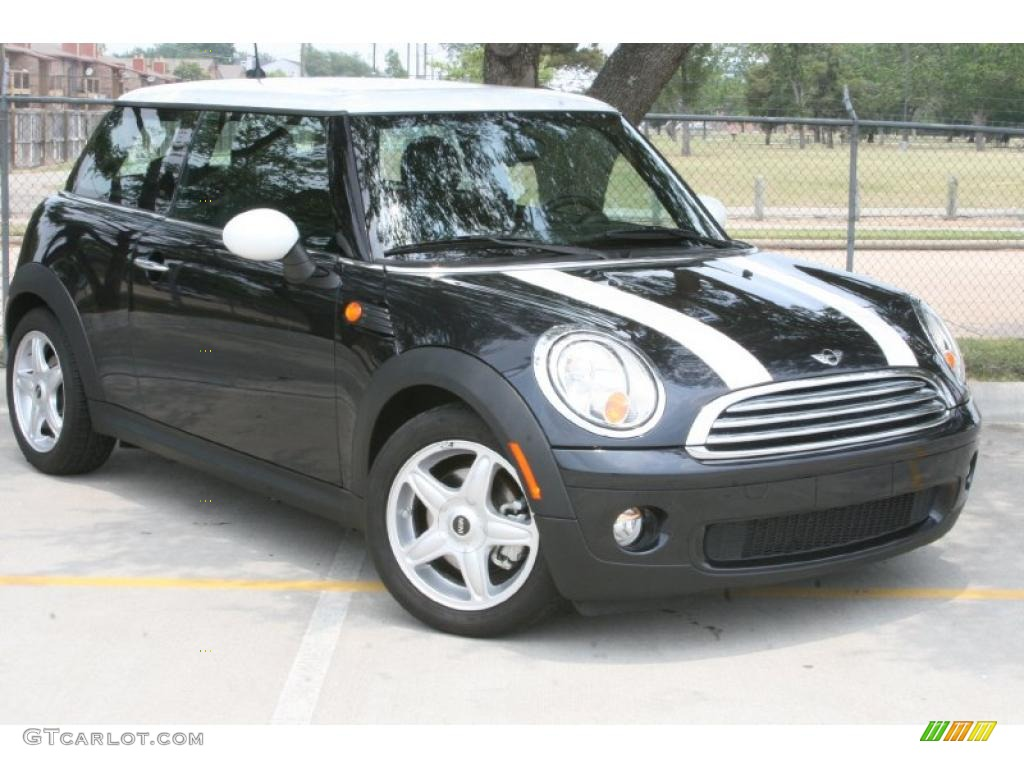 2008 astro black metallic mini cooper hardtop 49657243 car color galleries. Black Bedroom Furniture Sets. Home Design Ideas