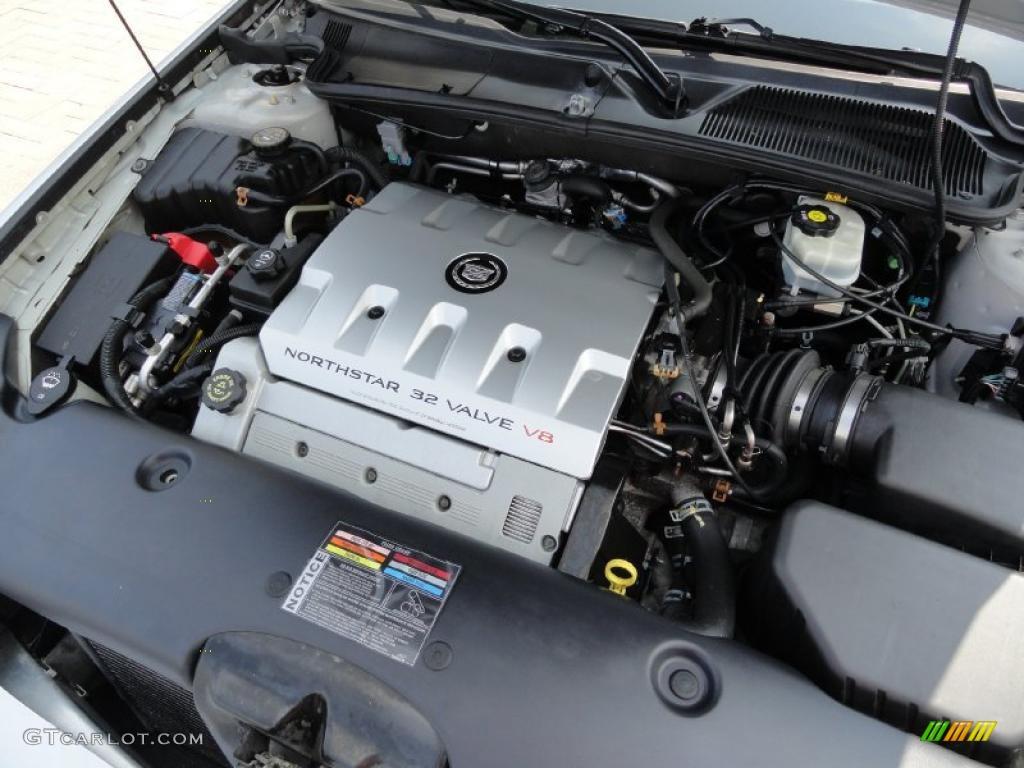2002 Cadillac DeVille DTS 4.6 Liter DOHC 32-Valve Northstar V8 ...