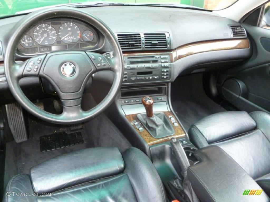 Black Interior 2000 Bmw 3 Series 328i Coupe Photo