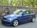 Front 3/4 View of 2008 1 Series 135i Coupe