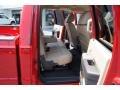 2011 Ford F250 Super Duty Adobe Two Tone Leather Interior Interior Photo
