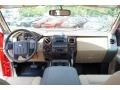 2011 Ford F250 Super Duty Adobe Two Tone Leather Interior Dashboard Photo