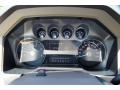 2011 Ford F250 Super Duty Adobe Two Tone Leather Interior Gauges Photo