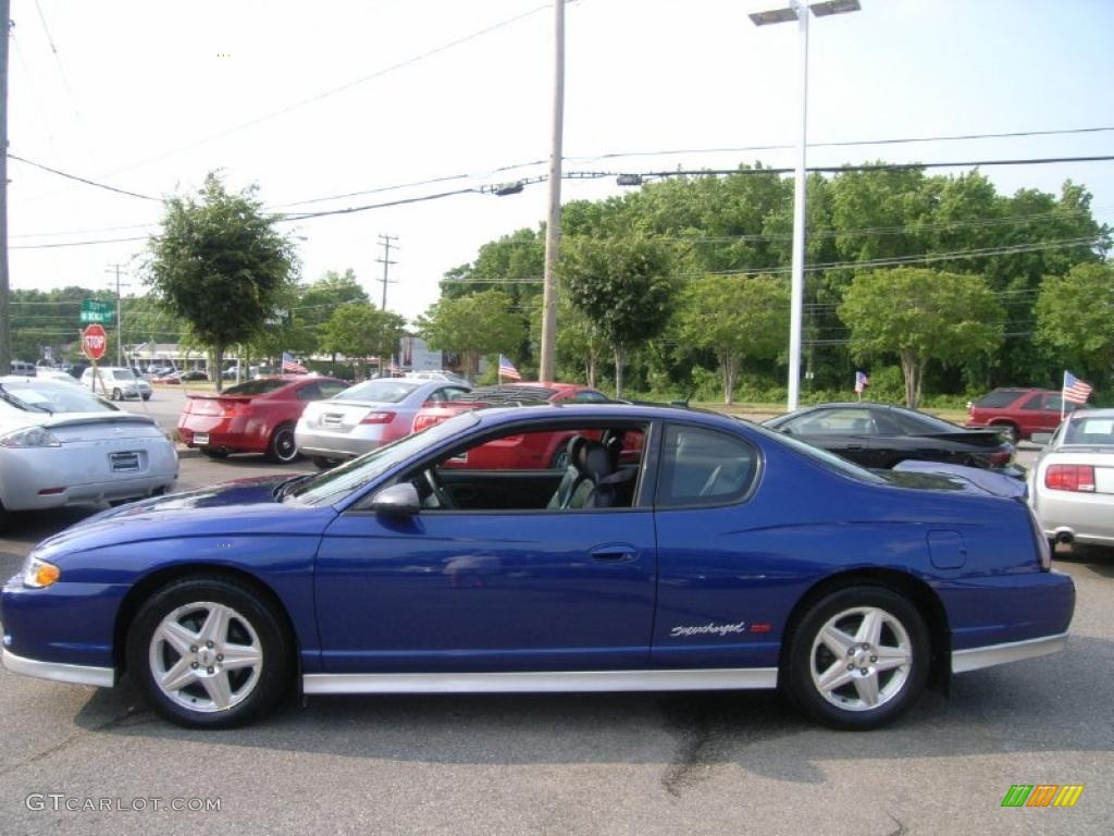 laser blue metallic 2005 chevrolet monte carlo. Black Bedroom Furniture Sets. Home Design Ideas