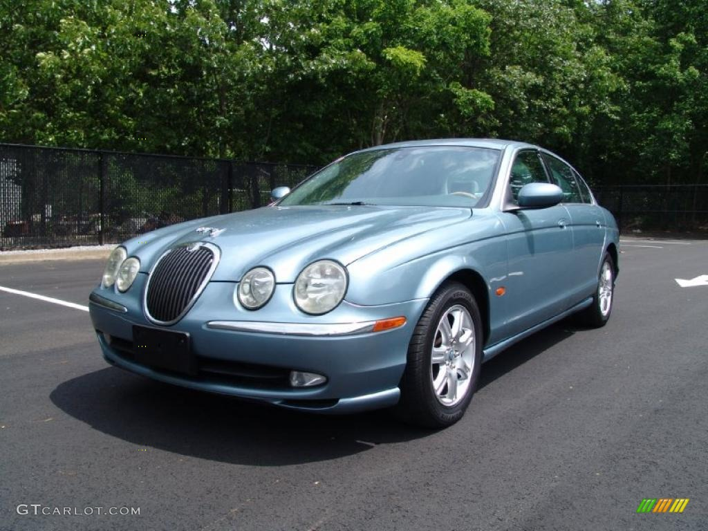 zircon metallic 2003 jaguar s type 3 0 exterior photo. Black Bedroom Furniture Sets. Home Design Ideas