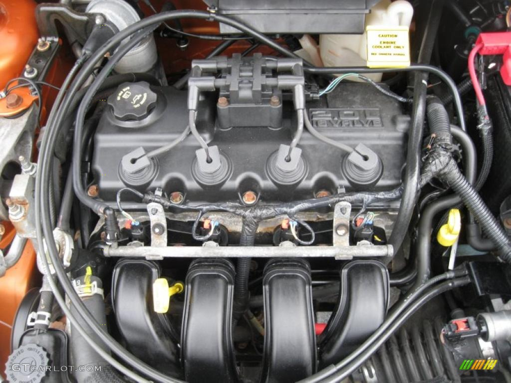 2005 Dodge Neon SXT 2.0 Liter SOHC 16-Valve 4 Cylinder ...